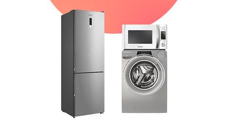 En electrodomésticos CANDY