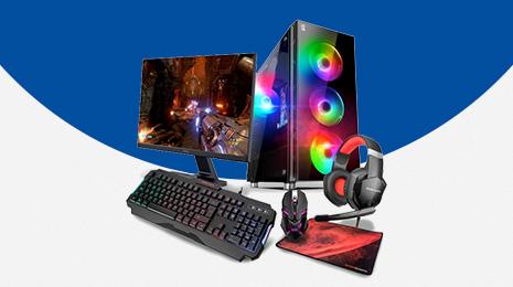 Pack CPU Gaming Primux IOX + Monitor teclado ratón y headset