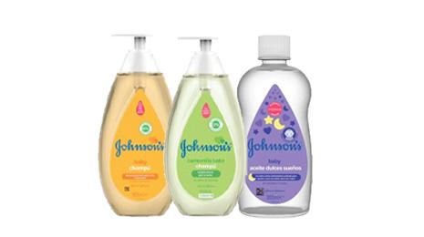En estos productos de higiene infantil JOHNSON'S BABY