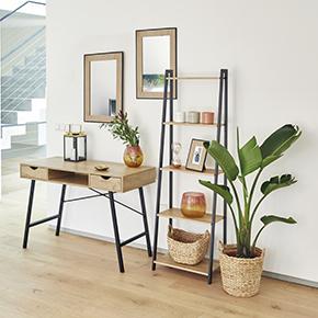 Mesas y Escritorios para crear Zonas de trabajo o estudio confortables