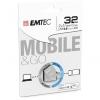 Memoria Usb Emtec 2.0 Dual Micro T250 32GB