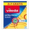 Bayeta Multiusos con Microfibras VILEDA Suave 2+2