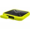 Disco Duro Externo SSD Adata SD700 256GB - Amarillo