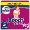 Pañales Dodot Activity XXL Talla 5 (11-16 kg) 126 ud.