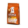 Pienso de pollo para perro adulto Mini Ultima 7,5 Kg.