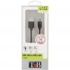 Cable Micro-Usb Tnb CBMUSB1BK - Negro