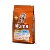Pienso de pollo y arroz para perro cachorros Medium Ultima 7,5 Kg.