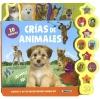 CRÍAS DE ANIMALES(10 SONIDOS)(CARTON DURO CON SONIDOS)