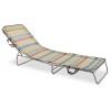 Cama Aluminio 3 Patas - Textilene. Multicolor