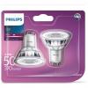 Pack de 2 Bombillas Classic Led Philips 50W  GU10