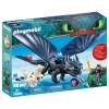 Playmobil - Hipo y desdentao con Bebé Dragón Playmobil: Dragons