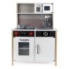 Cocina de madera WOOMAX con luz y sonido 65x90x30 cm