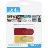 Memoria USB PNYPack 2x64GB Edición Limitada