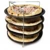 Bandeja más Soporte Acero Pizza GUARDINI 28 cm - Negro