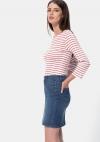 Falda corta vaquera sostenible para Mujer TEX