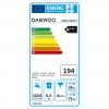 Lavadora 8 kg Daewoo A+++ DWD-FV820T1