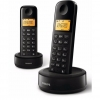 Teléfono Dect Philips D1602B Twin