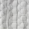 Colchón HR Adaptex PIKOLIN Cierzo 150X190 cm