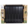 Molde rectangular de Acero SAN IGNACIO Origen 40x28x8 cm - Negro