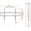 Soporte TV Metronic Fijo 451043 139,7cm a 195,58cm  (55''- 77'' )