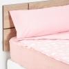 Saco Nórdico Desmontable Cuatro Piezas de Algodón TEX Cama 90 cm Rosa