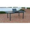 Mesa Extensible de Aluminio 170/220x100x80 cm Palma - Antracita