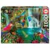 Puzzle Educa Loros Tropicales 1000 Piezas