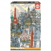 Puzzle Educa City Paris 200 Piezas