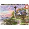 Puzzle Educa Faro en Rock Bay 4000 Piezas