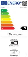 "TV LED 127 cm (50"") Philips 50PUS7855/12, 4K UHD, Smart TV"