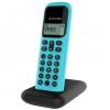 Teléfono Inalámbrico Alcatel D285 - Negro/turquesa