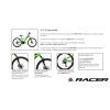 "Bici  MTB 27,5""  Racer 275 Disc Verde T. S/M"