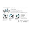 "Bici  MTB 29""  Racer 275 Disc Azul T. L"