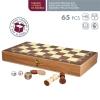 CB Games - Juego de Nesa 3 en 1 Ajedrez, damas y Backgammon