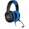 Auriculares Corsair HS35 Stereo con Micrófono - Azul