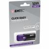 Memoria USB Emtec Click Easy 128GB - Púrpura