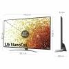 "TV NanoCell 165,1 cm (65"") LG 65NANO916PA, 4K UHD, Smart TV"
