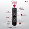 """TV OLED 121,92 cm (48"""") LG 48A16LA, 4K UHD, Smart TV"""