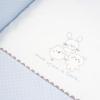 Minicuna de Madera con Ventana y Coordinado Textil Disbebé