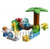 LEGO DUPLO Jurassic World - Minizoo: Gigantes Mansos