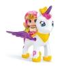 Pin y Pon - Estrella y Unicornio Volador