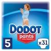 Pants Dodot Talla 5 (12-17 Kgs) 31 ud.