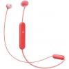 Auricular Sony WIC300 con Bluetooth - Rojo