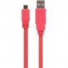 Cable Flat Micro USB Tnb CBMUSB03PK