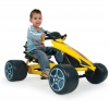 Injusa - Triciclo a Pedales Go-kart Flecha. Amarillo