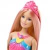 Barbie Dreamtopia - Muñeca Sirena Luces de Arcoíris