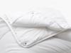 Relleno Nórdico de Microfibra TEX HOME 4 Estaciones Cama 90 cm Blanco