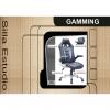 Sillón Giratorio ADEC Gaming 70x70x115-123 cm - Negro/Azul