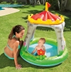 Piscina Hinchable Castillo & Flor 122 X 122 Cm 74 Litros Intex 57122np -