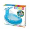 Piscina Hinchable Para Niños Con Pulverizador Intex 208x157cm Ballena
